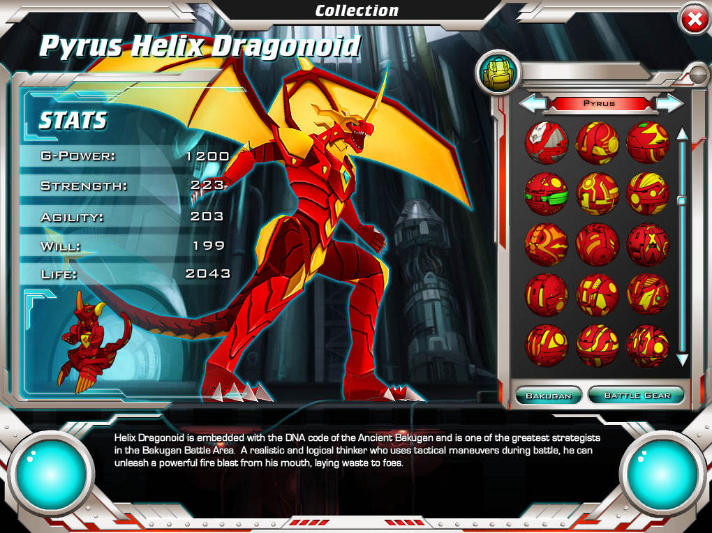 bakugan online game